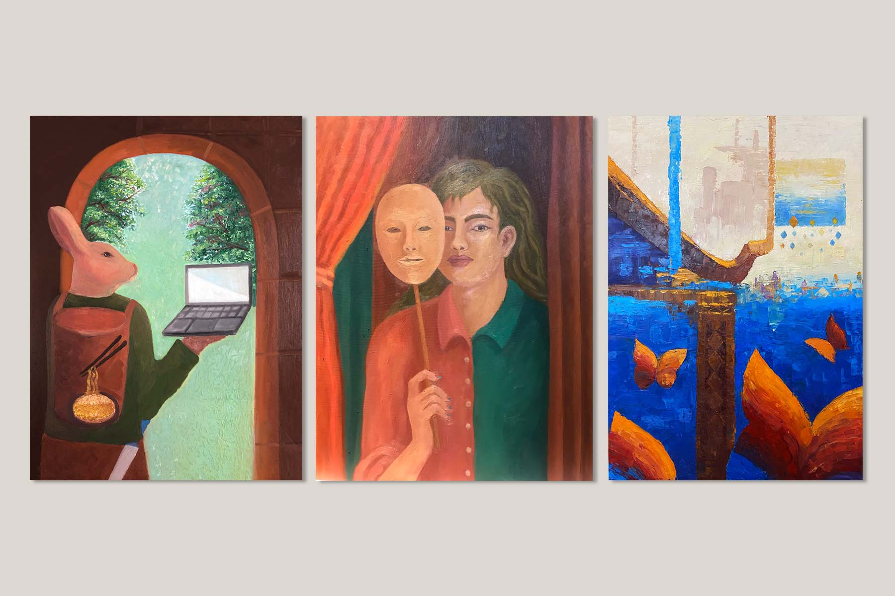 The Power of Oil Painting in Reflecting Social Concerns in Cambodia