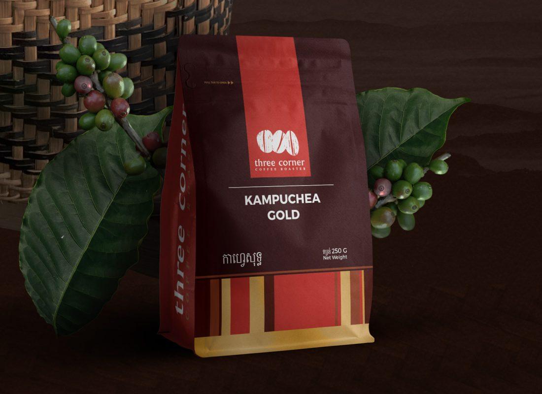 Three Corner Coffee Roaster Packaging Redesign